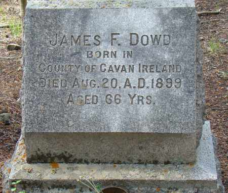DOWD AKA DOUD, JAMES F. - Park County, Colorado | JAMES F. DOWD AKA DOUD - Colorado Gravestone Photos