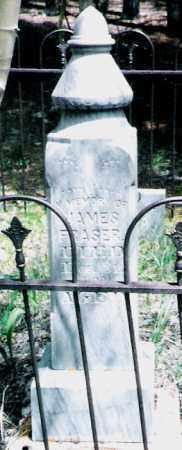 FRASER  AKA  FRASIER, JAMES - Park County, Colorado | JAMES FRASER  AKA  FRASIER - Colorado Gravestone Photos