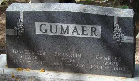 GUMAER, FRANKLIN PETER - Park County, Colorado | FRANKLIN PETER GUMAER - Colorado Gravestone Photos