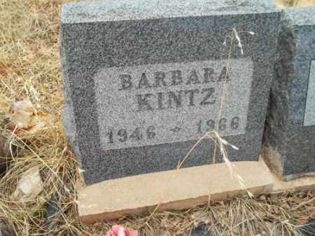KINTZ, BARBARA - Park County, Colorado | BARBARA KINTZ - Colorado Gravestone Photos