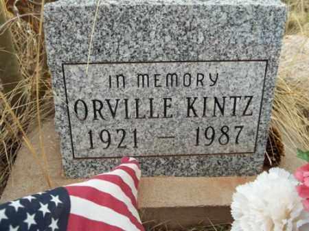 KINTZ, ORVILLE - Park County, Colorado | ORVILLE KINTZ - Colorado Gravestone Photos