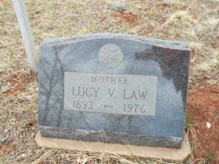 LAW, LUCY V. - Park County, Colorado | LUCY V. LAW - Colorado Gravestone Photos