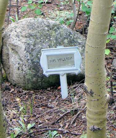 WALKER MOULTON, MARGARETHA - Park County, Colorado   MARGARETHA WALKER MOULTON - Colorado Gravestone Photos