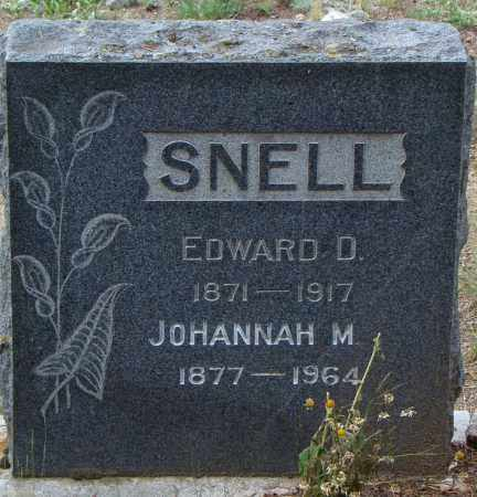 SNELL, EDWARD DANIEL - Park County, Colorado | EDWARD DANIEL SNELL - Colorado Gravestone Photos
