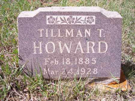 HOWARD, TILLMAN T. - Park County, Colorado | TILLMAN T. HOWARD - Colorado Gravestone Photos