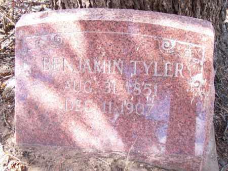TYLER, BENJAMIN - Park County, Colorado | BENJAMIN TYLER - Colorado Gravestone Photos