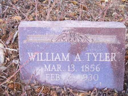 TYLER, WILLIAM A. - Park County, Colorado | WILLIAM A. TYLER - Colorado Gravestone Photos