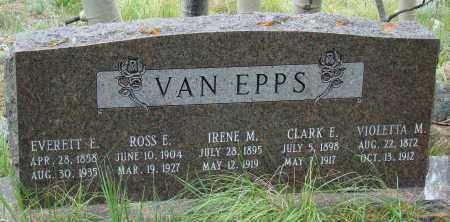 VAN EPPS, VIOLETTA - Park County, Colorado   VIOLETTA VAN EPPS - Colorado Gravestone Photos