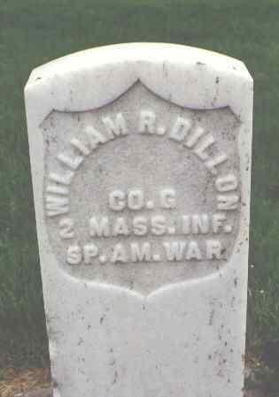 DILLON, WILLIAM R. - Phillips County, Colorado | WILLIAM R. DILLON - Colorado Gravestone Photos