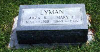 LYMAN, ARZA BROWN - Phillips County, Colorado | ARZA BROWN LYMAN - Colorado Gravestone Photos