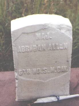 ALLEN, ABRAHAM - Pitkin County, Colorado   ABRAHAM ALLEN - Colorado Gravestone Photos
