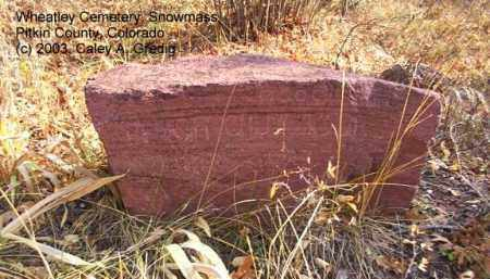 "BOURG, CASSIE ""CHUB"" - Pitkin County, Colorado   CASSIE ""CHUB"" BOURG - Colorado Gravestone Photos"