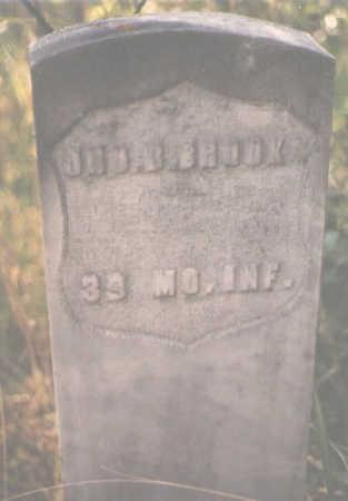 BROOK, JNO. B. - Pitkin County, Colorado | JNO. B. BROOK - Colorado Gravestone Photos