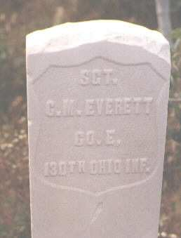EVERETT, C. M. - Pitkin County, Colorado | C. M. EVERETT - Colorado Gravestone Photos