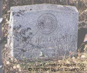 HIATT, FANNIE B. - Pitkin County, Colorado | FANNIE B. HIATT - Colorado Gravestone Photos
