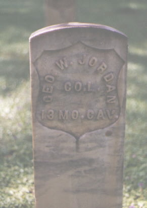 JORDAN, GEO. W. - Pitkin County, Colorado | GEO. W. JORDAN - Colorado Gravestone Photos