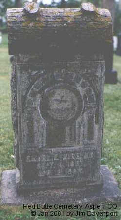 KIRSHER, CHARLIE - Pitkin County, Colorado   CHARLIE KIRSHER - Colorado Gravestone Photos