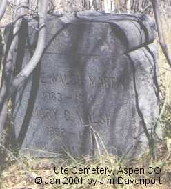 MARTIN, KATIE E. - Pitkin County, Colorado | KATIE E. MARTIN - Colorado Gravestone Photos
