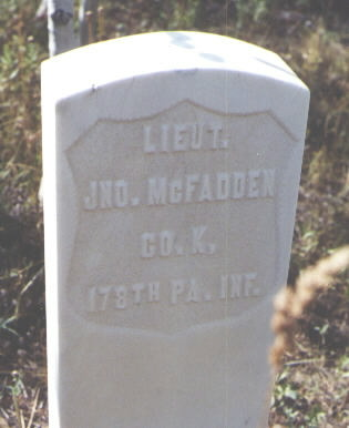 MCFADDEN, JNO. - Pitkin County, Colorado | JNO. MCFADDEN - Colorado Gravestone Photos
