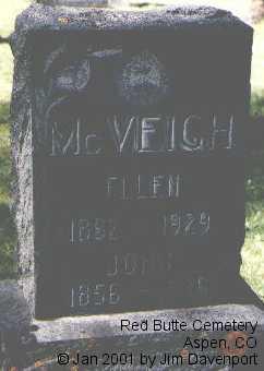 MCVEIGH, JOHN - Pitkin County, Colorado   JOHN MCVEIGH - Colorado Gravestone Photos