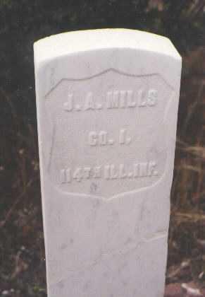MILLS, J. A. - Pitkin County, Colorado   J. A. MILLS - Colorado Gravestone Photos