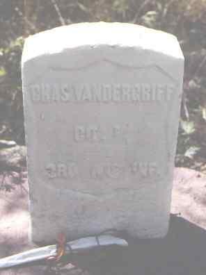 VANDERGRIFF, CHAS. - Pitkin County, Colorado | CHAS. VANDERGRIFF - Colorado Gravestone Photos