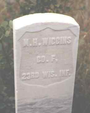 WIGGINS, M. H. - Pitkin County, Colorado | M. H. WIGGINS - Colorado Gravestone Photos