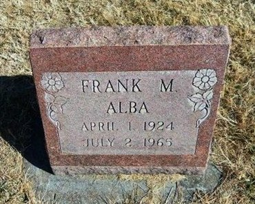 ALBA, FRANK M - Prowers County, Colorado | FRANK M ALBA - Colorado Gravestone Photos