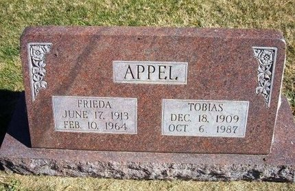 BORN APPEL, FRIEDA - Prowers County, Colorado | FRIEDA BORN APPEL - Colorado Gravestone Photos