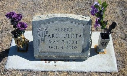 ARCHULETA, ALBERT - Prowers County, Colorado | ALBERT ARCHULETA - Colorado Gravestone Photos