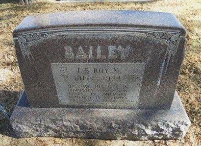 BAILEY (VETERAN WWII KIA), ROY MAYNARD - Prowers County, Colorado | ROY MAYNARD BAILEY (VETERAN WWII KIA) - Colorado Gravestone Photos