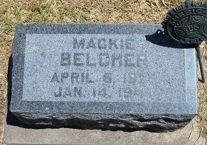 BELCHER (VETERAN WWII), MACKIE - Prowers County, Colorado | MACKIE BELCHER (VETERAN WWII) - Colorado Gravestone Photos