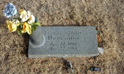 BENCOMO, FRANCISCO JAVIER - Prowers County, Colorado | FRANCISCO JAVIER BENCOMO - Colorado Gravestone Photos
