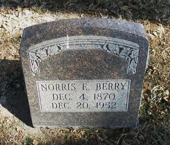 BERRY, NORRIS EVERSON - Prowers County, Colorado | NORRIS EVERSON BERRY - Colorado Gravestone Photos