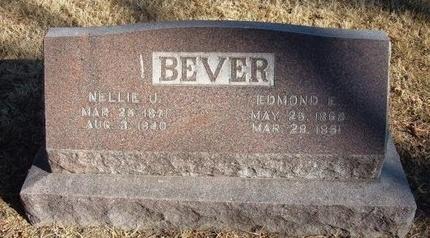 BEVER, EDMOND E - Prowers County, Colorado   EDMOND E BEVER - Colorado Gravestone Photos