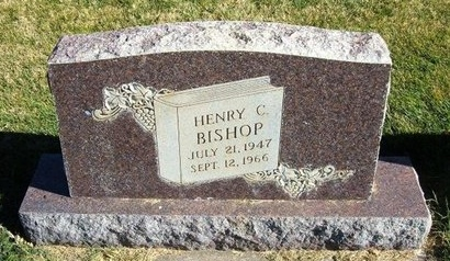 BISHOP, HENRY C - Prowers County, Colorado | HENRY C BISHOP - Colorado Gravestone Photos
