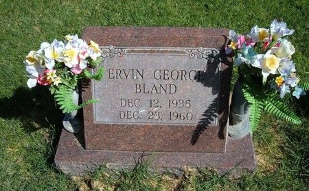 BLAND, ERVIN GEORGE - Prowers County, Colorado | ERVIN GEORGE BLAND - Colorado Gravestone Photos