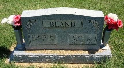 BLAND, ORVAL R - Prowers County, Colorado | ORVAL R BLAND - Colorado Gravestone Photos