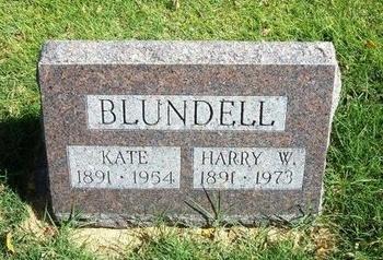 BLUNDELL, HARRY W - Prowers County, Colorado | HARRY W BLUNDELL - Colorado Gravestone Photos