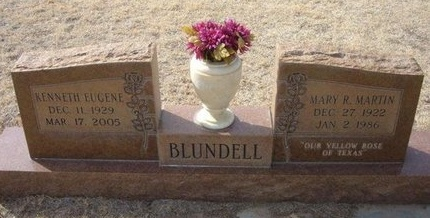 BLUNDELL, MARY R - Prowers County, Colorado | MARY R BLUNDELL - Colorado Gravestone Photos