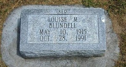 BLUNDELL, LOUISE M - Prowers County, Colorado | LOUISE M BLUNDELL - Colorado Gravestone Photos