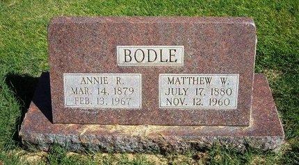 BODLE, MATTHEW W - Prowers County, Colorado | MATTHEW W BODLE - Colorado Gravestone Photos