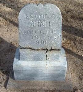 RANER BOND, NETTIE CATHERINE - Prowers County, Colorado | NETTIE CATHERINE RANER BOND - Colorado Gravestone Photos