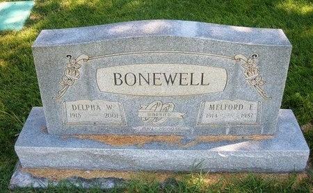 BONEWELL, MELFORD E - Prowers County, Colorado | MELFORD E BONEWELL - Colorado Gravestone Photos