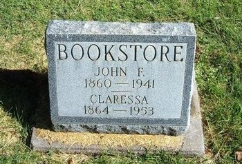 BOOKSTORE, CLARESSA - Prowers County, Colorado   CLARESSA BOOKSTORE - Colorado Gravestone Photos