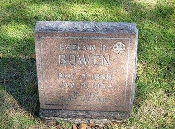 BOWEN, EVELYN RADFORD - Prowers County, Colorado | EVELYN RADFORD BOWEN - Colorado Gravestone Photos