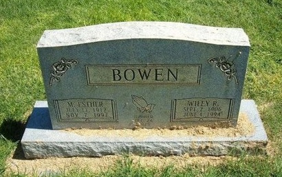 HAWVER BOWEN, MARY ESTHER - Prowers County, Colorado | MARY ESTHER HAWVER BOWEN - Colorado Gravestone Photos