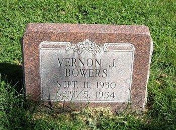 BOWERS, VERNON J - Prowers County, Colorado   VERNON J BOWERS - Colorado Gravestone Photos