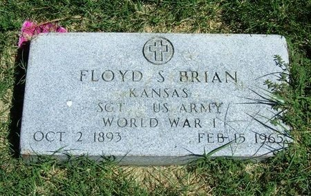 BRIAN (VETERAN WWI), FLOYD S - Prowers County, Colorado | FLOYD S BRIAN (VETERAN WWI) - Colorado Gravestone Photos