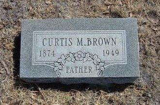 BROWN, CURTIS M - Prowers County, Colorado | CURTIS M BROWN - Colorado Gravestone Photos